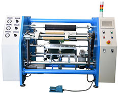 Multifunction Two-Shaft Type Semi-Automatic Aluminum Foil & Cling Film Rewinder (SRB-A-2S 20-50)